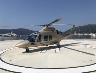 Helicopter rental in Montenegro